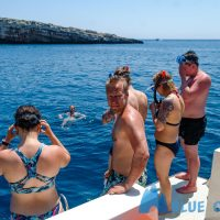 Snorkeling from the boat Croatia