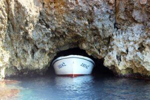Entrance to the Blue Cave, Croatia